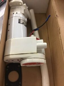 Electric Par Toulet flush for Boats etc