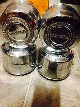 Toyota hilux genuine chrome centre caps South Windsor Hawkesbury Area Preview