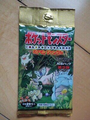 Pokemon TCG Jungle Set Booster Pack Japanese Factory