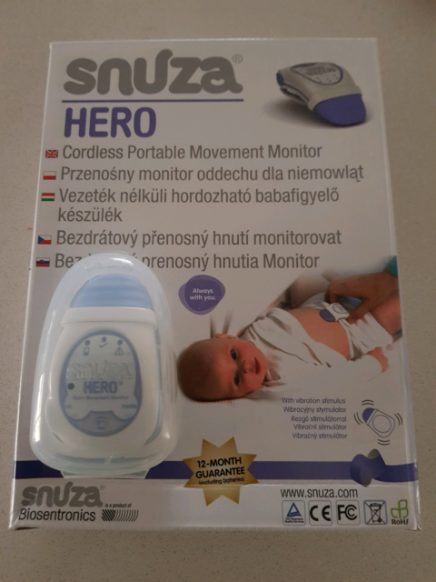 Snuza Hero Portable Movement Monitor Monitors Gumtree Australia