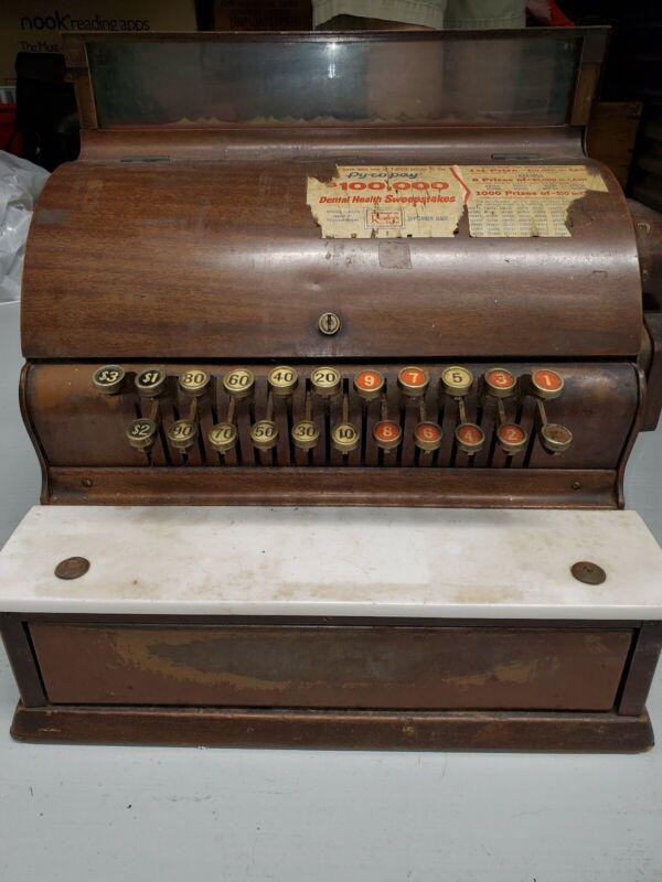 Antique Cash Register NCR