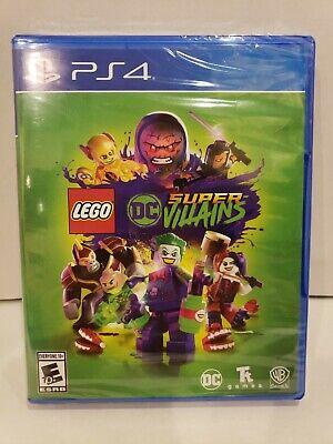 LEGO: DC Comics Super Villains (PlayStation 4, 2018) NEW