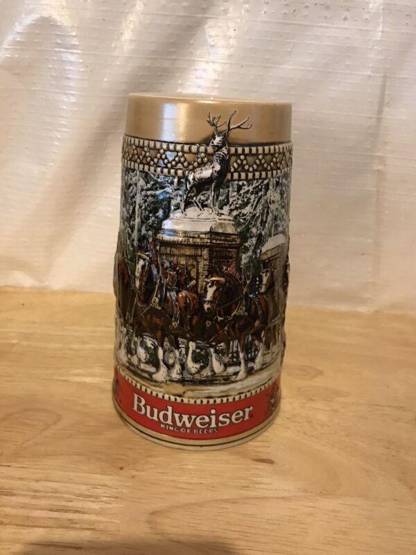 """Budweiser Collector Stein """"C"""" Series"""