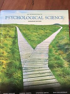 """""""An Introduction to Psychological Science"""" Canadian Edition"""