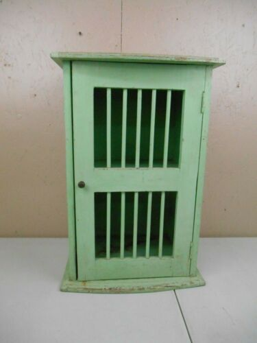 Vintage Antique Apothecary Wood Cabinet