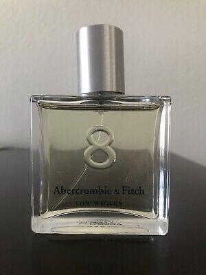 Abercrombie & Fitch Womens 8 Perfume 1.7 oz / 50 mL Vintage Bottle Rare Full!