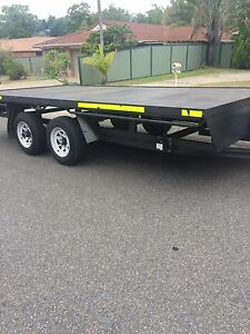 5m x 2.4m flat bed trailer 3.5 tonne rating Arundel Gold Coast City Preview