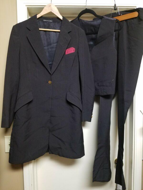 EUC Sz10 Hoham Habit-tre Saddleseat 3pc suit coat vest jod side zip equitation
