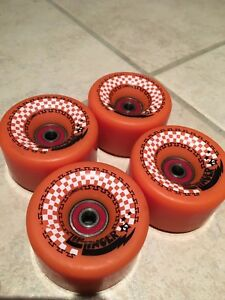 Skateboard wheels and bearings