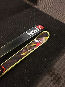 Head framewall park skis need gone asap 400$