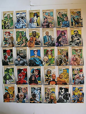 Marvel 75th Anniversary Base set of 90 Cards by Rittenhouse