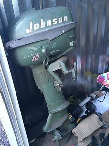 10hp Johnson sea horse