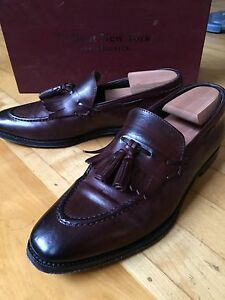 To boot New York burgundy shoes (loafers) - sz 8US
