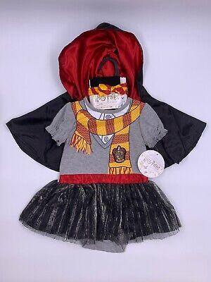 Harry Potter Dress Cloak Tights Headband Halloween Costume Baby Girl 6-12 - Harry Potter Kostüm Babys