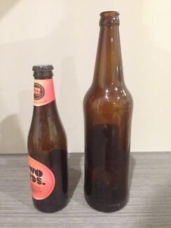 Crown Seal Glass Beer Bottles