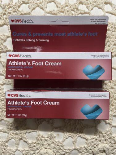 CVS 1oz. Tinactin Athletes Foot Cream Antifungal Cream Tolna