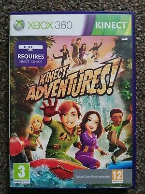 kinect adventures xbox 360 game. for sale  Shipping to Nigeria
