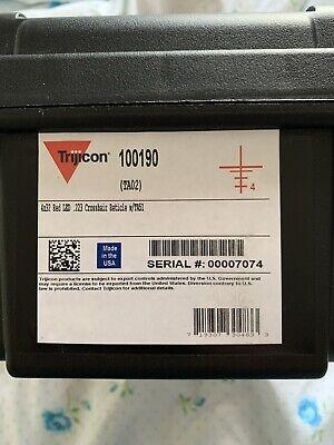 Trijicon ACOG 4x32 (TA02) additional Trijicon throw lever mount