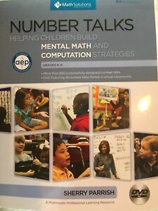 Number Talks Book- Teacher resource