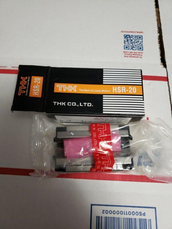 (NEW) THK Linear Roller Bearing Guide Block HSR-20 HSR20R1SS(GK) BLOCK