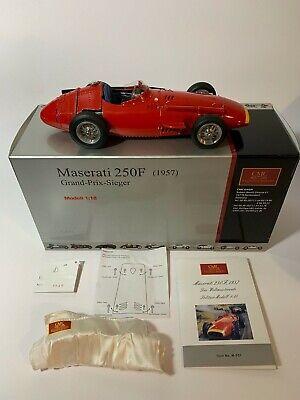 Rare CMC 1:18 Maserati 250F 1957 Grand Prix Sieger M-051 Boxed Certs