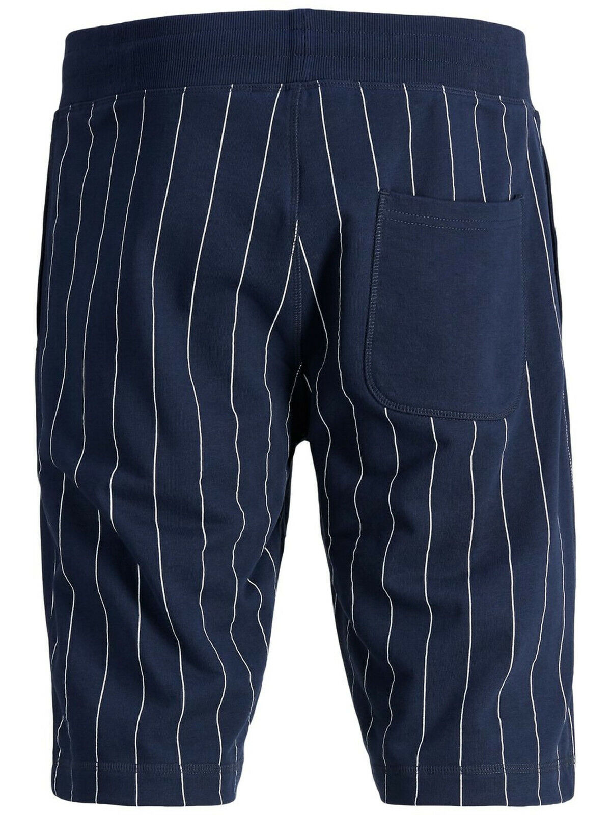 Mens Sweat Gym Pants Intelligence Shorts Pin Stripe Jack /& Jones JJIPinstripe