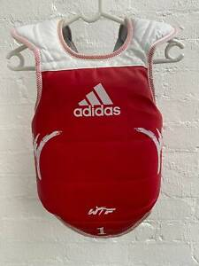 Adidas martial arts blue red chest protector