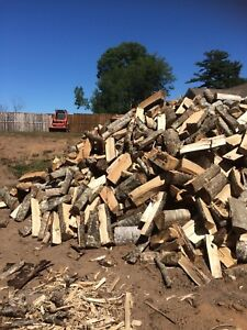 Dry split hardwood for sale and delivery