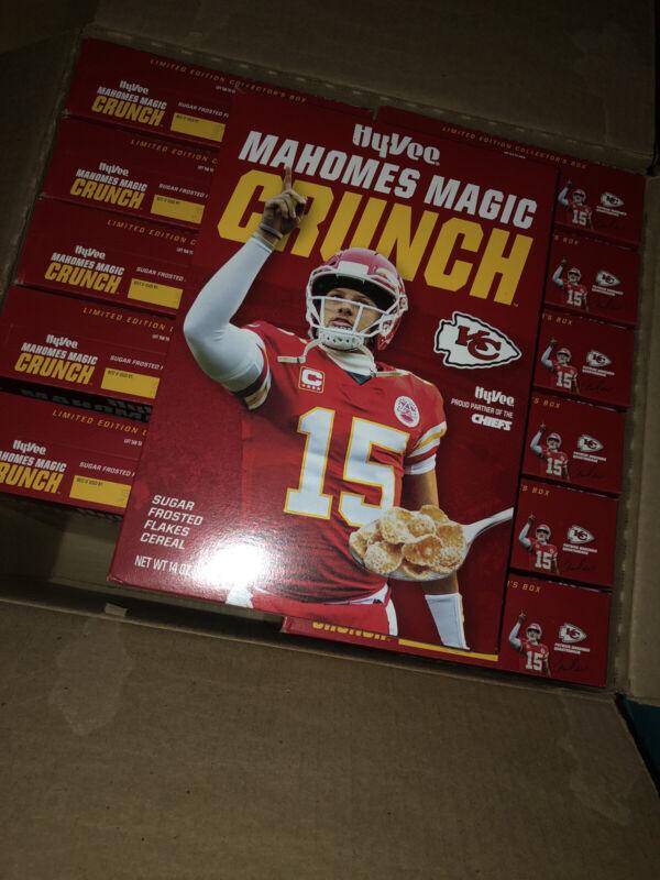 Patrick Mahomes - Mahomes Magic Crunch Cereal - Limited Edition Collectors