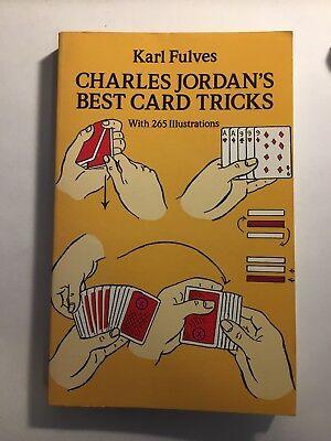Dover Magic Bks.: Charles Jordan's Best Card Tricks by Karl Fulves
