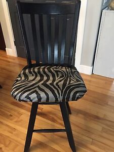 Crate &a Barrel swivel bar stool