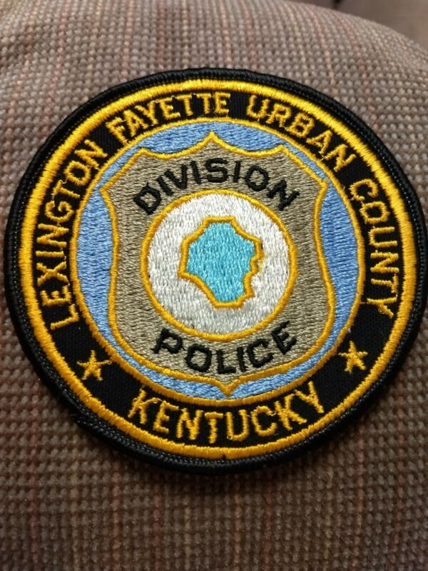 VINTAGE LEXINGTON FAYETTE URBAN COUNTY KENTUCKY  DIVISION POLICE PATCH - NEW