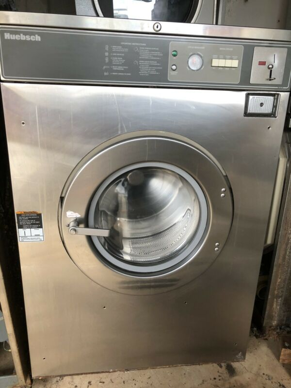 Used Huebsch 50Lb Coin washer 208/240v 3 ph.Works great. Pick up in Central NJ.