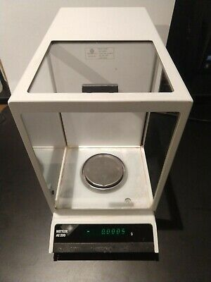 Mettler Toledo Ae 200-s Analytical Balance Scale Tested