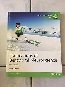 Foundations of Behavioural Neuroscience 9th Edition Upper Coomera Gold Coast North Preview