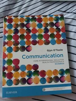 communication, core interpersonal skills for health professionals