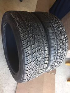 "** GOOD PAIR OF 22"" TIRES ** - CHEAP !!"