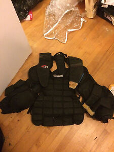 Ice hockey goalie chest protector