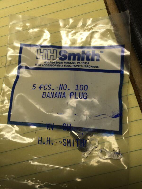 Abbatron Hh Smith No.100 Banana Plug, 15A, Stud