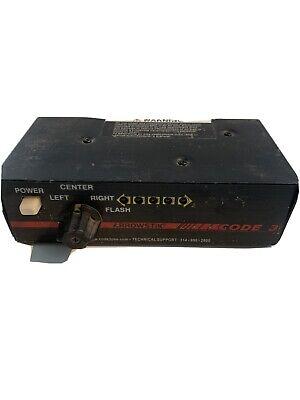 Code 3 Arrowstik Lightbar Controller Head Electronic Power Switch Box Used
