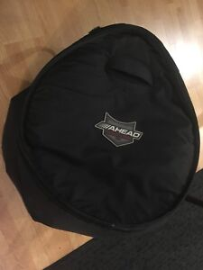 20x18 ahead armor bass drum case , used