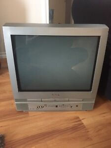 """20"""" TV with built in DVD player"""
