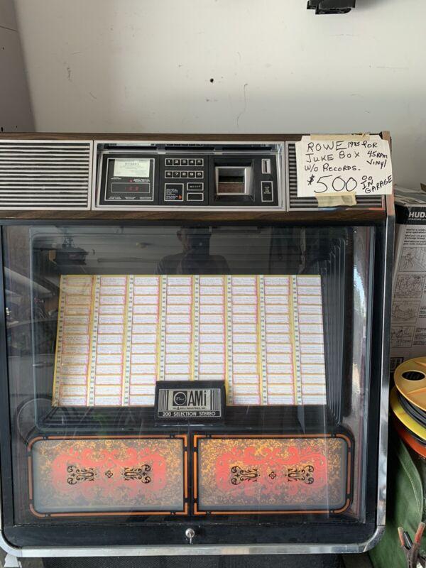 ROWE R85 JUKE BOX