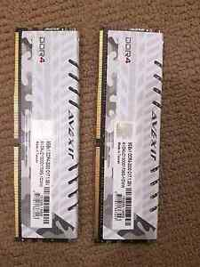 16G AVEXIR DDR4 3000 RAM with white breath LED camouflage Kurralta Park West Torrens Area Preview
