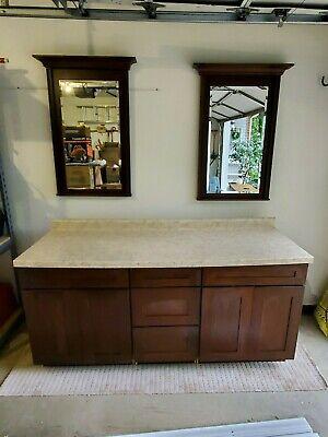 KraftMaid Bathroom Cabinets and Mirrors Kaffe Cherry - New