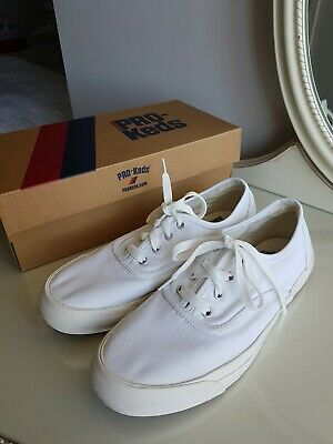 Womens Pro Keds White Royal Sneakers Plimsolls UK Size 6 Boxed