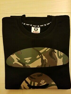 New  AAPE by A Bathing Ape X AUDI CROSSOVER MEN M SWEATER 100% authentic , used for sale  Shipping to India