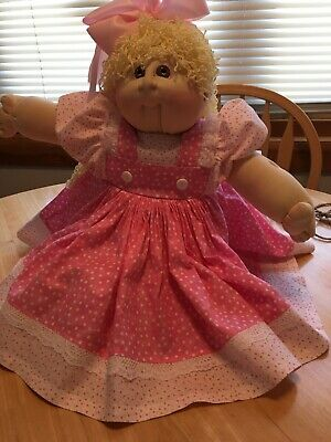 CABBAGE PATCH SOFT SCULPTURE DOLL 1988 ORIGINAL OUTFIT PAPERWORK COLLECTOR #273