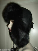 Cappello Hut Hat Colbacco Pelliccia Fur Pelz Volpe Nera Aviatore Black Fox Fuchs - fuchs - ebay.it