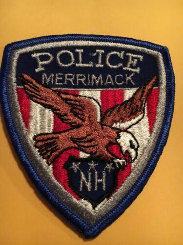 Merrimack New Hampshire Vintage Police Patch